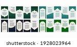 creative decorated social media ... | Shutterstock .eps vector #1928023964