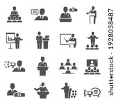 public speaking  political... | Shutterstock .eps vector #1928038487