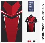 fabric textile design for sport ... | Shutterstock .eps vector #1928040077