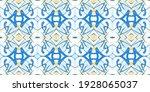kaleidoscopic repeating pattern.... | Shutterstock .eps vector #1928065037