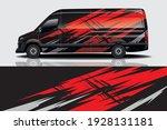 car wrap graphic racing... | Shutterstock .eps vector #1928131181