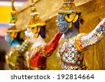A Statue Of Yaksa On Guard At...