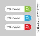 vector search bar user... | Shutterstock .eps vector #1928156957