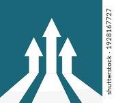 business arrow target... | Shutterstock .eps vector #1928167727