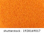 Red Lentils Texture Background. ...