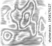 moire black vector background.... | Shutterstock .eps vector #1928170127