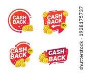 cashback badges template vector ... | Shutterstock .eps vector #1928175737