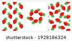 vector set of seamless patterns ... | Shutterstock .eps vector #1928186324