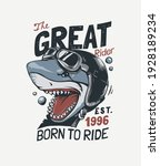 the great rider typography... | Shutterstock .eps vector #1928189234