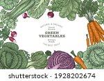 hand drawn vintage color... | Shutterstock .eps vector #1928202674