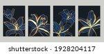 botanical wall art vector set....   Shutterstock .eps vector #1928204117