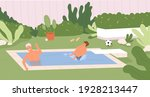 happy family having fun in...   Shutterstock .eps vector #1928213447