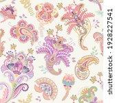 vector seamless paisley pattern.... | Shutterstock .eps vector #1928227541