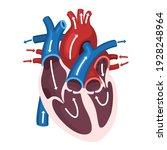 Science Icon Heart Anatomy....