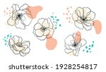 collection of drawings of... | Shutterstock .eps vector #1928254817