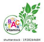 pill bio health logo template.... | Shutterstock .eps vector #1928264684