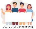 group of peoplei llustration... | Shutterstock .eps vector #1928279024