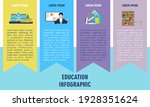 education infographic template... | Shutterstock .eps vector #1928351624