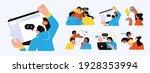 business concept illustrations. ... | Shutterstock .eps vector #1928353994