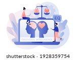 emotional intelligence. heart...   Shutterstock .eps vector #1928359754