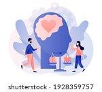 emotional intelligence. heart... | Shutterstock .eps vector #1928359757