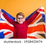 smart school kid boy holding...   Shutterstock . vector #1928423474
