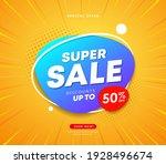 super sale business concept...   Shutterstock .eps vector #1928496674
