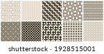 seamless vector pattern set.... | Shutterstock .eps vector #1928515001