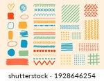 set of various textures  ... | Shutterstock .eps vector #1928646254