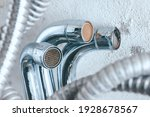 old plumbing  taps  filters ...   Shutterstock . vector #1928678567