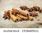 Cinnamon Sticks And Star Anise...