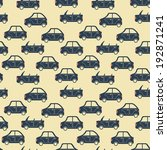 seamless pattern of cartoon... | Shutterstock . vector #192871241