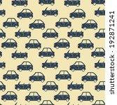 seamless pattern of cartoon... | Shutterstock . vector #192871241