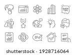 idea  bitcoin exchange and...   Shutterstock .eps vector #1928716064