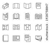booklet  blank  brochure thin...   Shutterstock .eps vector #1928758847