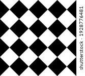 Diagonal Chess Tile. Vector...