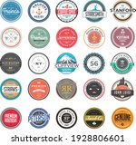 circle vintage and retro badge... | Shutterstock .eps vector #1928806601