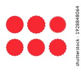 red circle label different...   Shutterstock .eps vector #1928848064