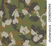 blots khaki camo seamless... | Shutterstock .eps vector #1928854394