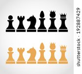 Chess Pieces Including King...