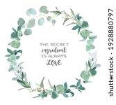 greenery selection vector... | Shutterstock .eps vector #1928880797