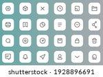 icon set for ux ui web element...