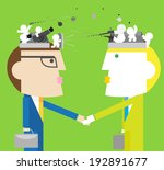 each negotiation is a other... | Shutterstock .eps vector #192891677