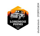 adventure off road vehicle logo ...   Shutterstock .eps vector #1928921834