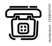 telephone icon or logo isolated ...