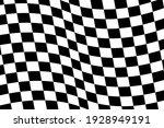 checkered flag. race background.... | Shutterstock .eps vector #1928949191