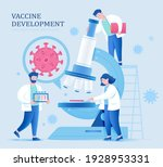 covid 19 illustration with... | Shutterstock .eps vector #1928953331