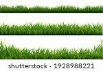 green grass frame with white...   Shutterstock .eps vector #1928988221
