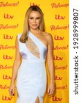 Small photo of London, United Kingdom - October 16, 2018: Amanda Holden attends the ITV Palooza held at The Royal Festival Hall on October 16, 2018 in London, England.
