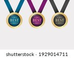 the best choice gold medal... | Shutterstock .eps vector #1929014711